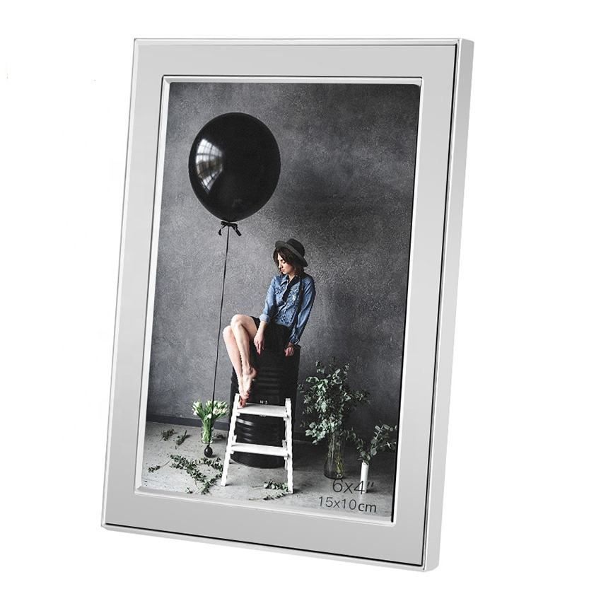 metal aluminum wholesale picture frames silver sexy aluminium photo frame