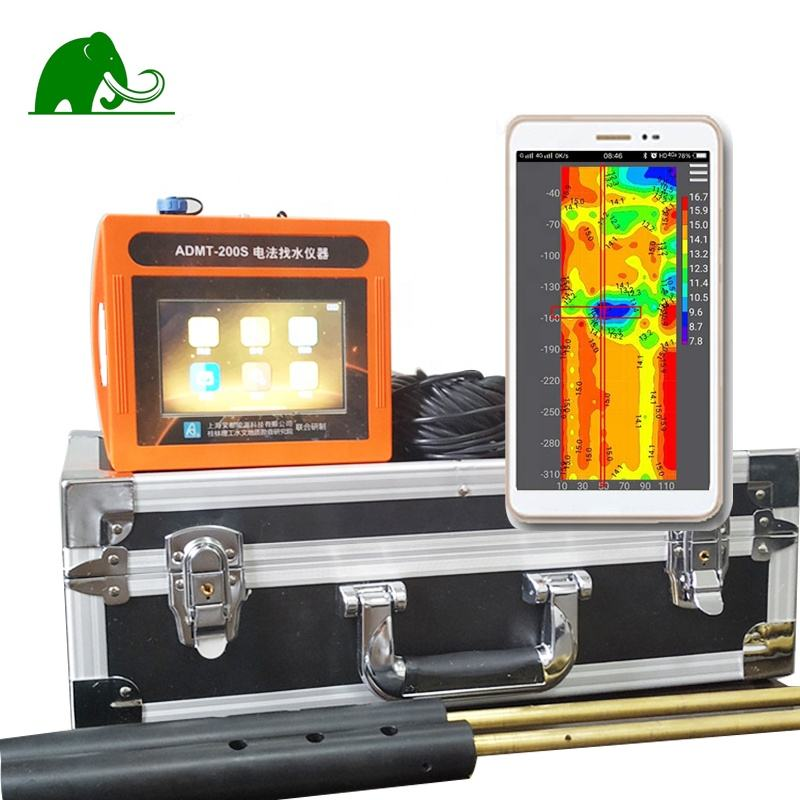 ADMT - 200S with screen automatic mapping 3D underground water detector machine price