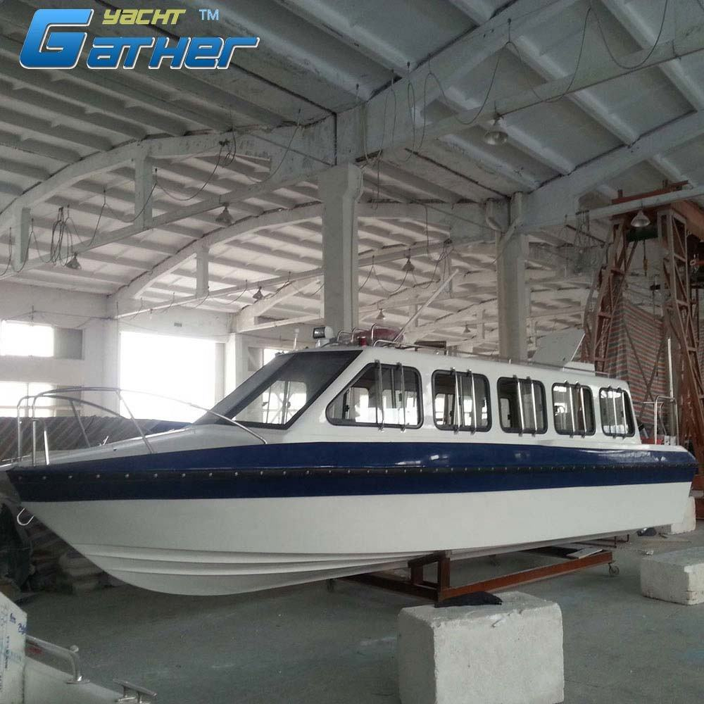Gather Best selling 8.6m fiberglass passenger ferry boats for sale