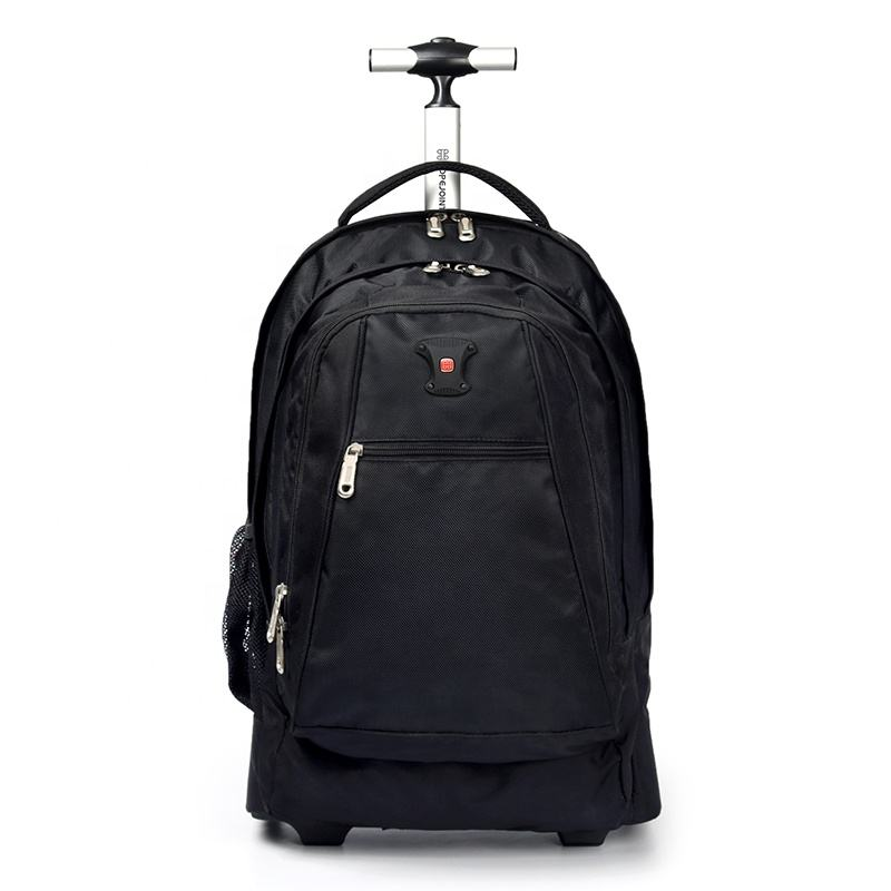 Rolling Luggage Wheeled Backpack Bags Travel Trolley Travelling With Sleeve Wheel Office Computer Bag Backpacks Back