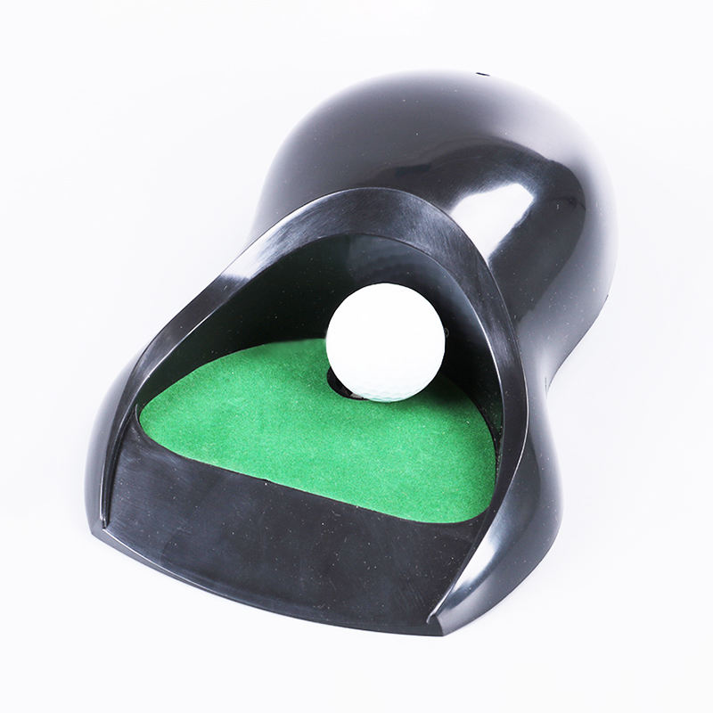 indoor office golf automatic auto putting putter hole cup returner practice training machine training