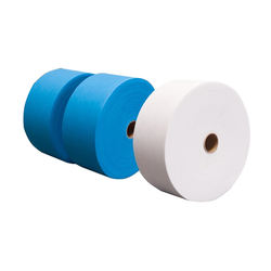 Factory Supply Best 25gsm 17.5/19.5cm 100% Polypropylene  Non Woven Fabric Rolls TNT