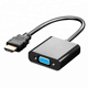 HDMI to VGA adapter 1080P male HDMI to VGA Factory price converter adpater