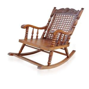 Antique Wood Made Comfortable For Indoor And Outdoor Decor Unique High Quality Designing Rocking living room Chair