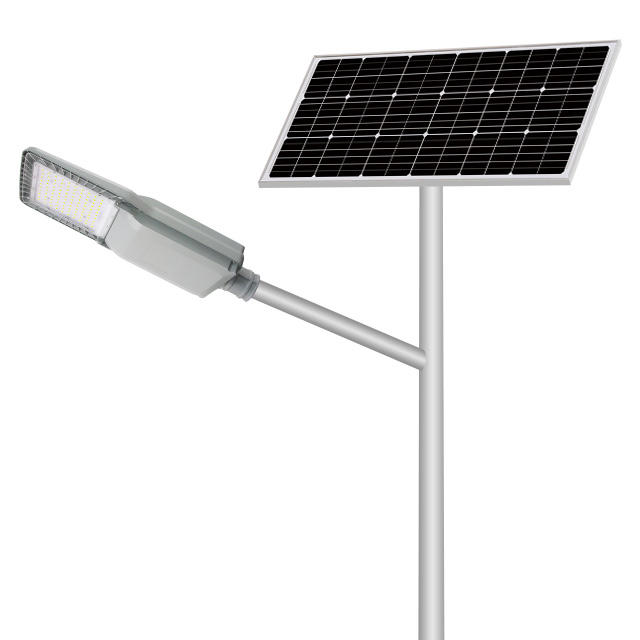 automatically wholesaler factory solar powered 60w all in two solar street light for sale