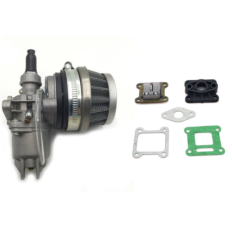 49cc carburetor Pocket Bike 47cc engine carb with Gasket Air Filter for 2 stroke Mini Quad ATV Dirt Bike MiniMoto Go Kart Buggy