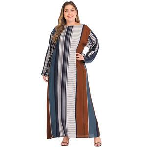 Long dress chiffon new style abaya dubai muslim dress moroccan kaftan dress