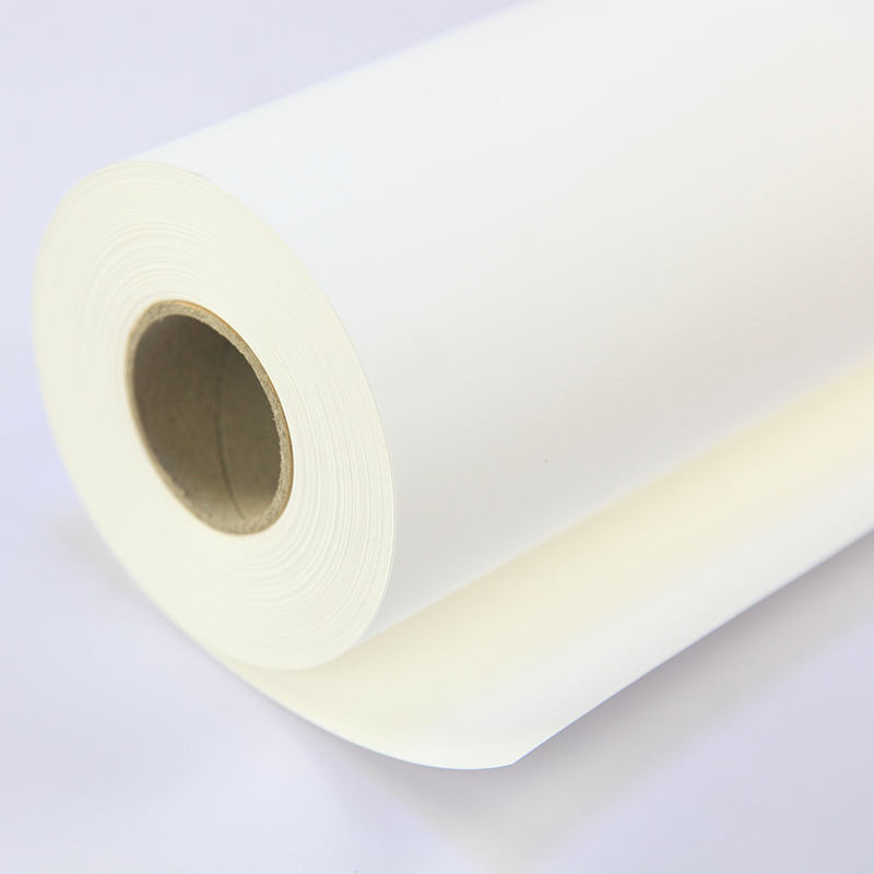 0.914m pp synthetic paper Digital printing materials 120g Indoor self adhesive PP paper