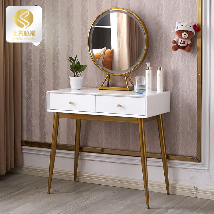 bedroom with storage wooden white dressing tables for girls make up Dressing table chair set room