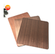 Copper Steel Plate Y322 Mirror Hairline Wall Panel Red Copper Stainless Steel Plate for Home