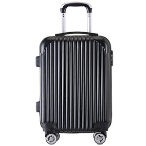 Chinese supplier cheap trolley suitcase sets 3pcs ABS lightweight trolley travel bags luggage sets