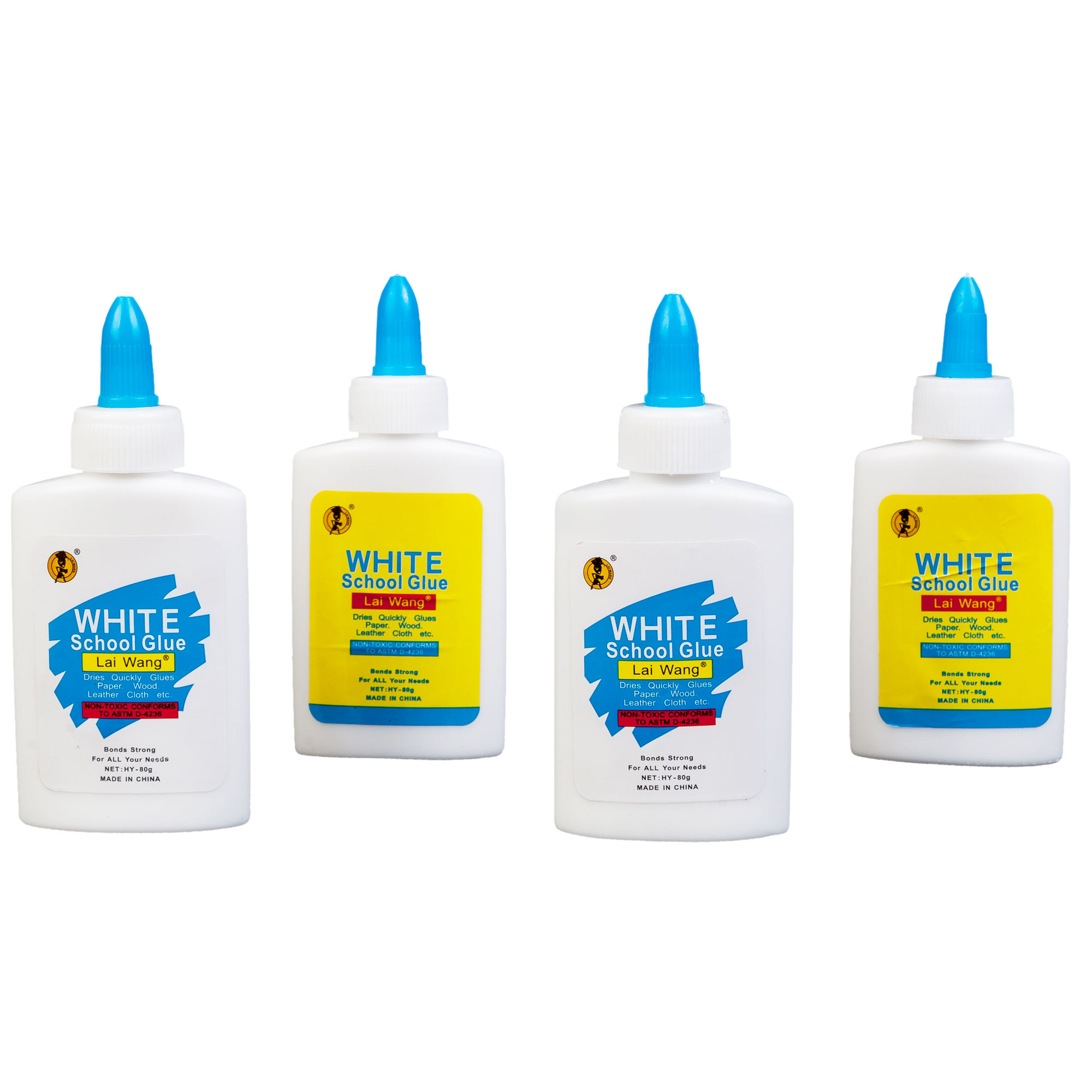 80g White Glue Water-Soluble Vinyl Acetate Paper/Wood/Packaging Pva Glue White Latex Slime Glue