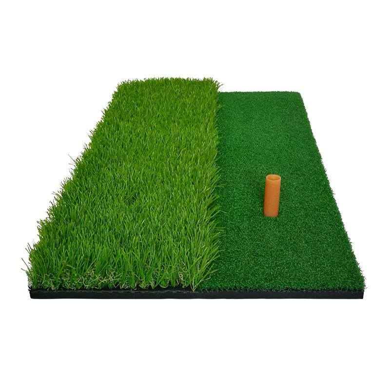 Factory Price Artificial Turf Hitting Mat Rubber Bottom Portable Golf Hitting Mat