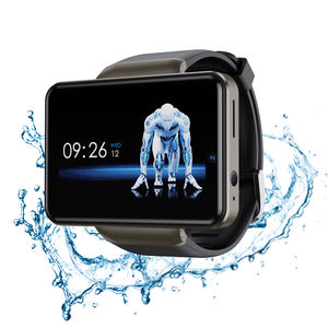 4G android smart watch support android 2.41 inch Dual CAMERA 5.0MP smartwatch large battery 2080mAh domiwear