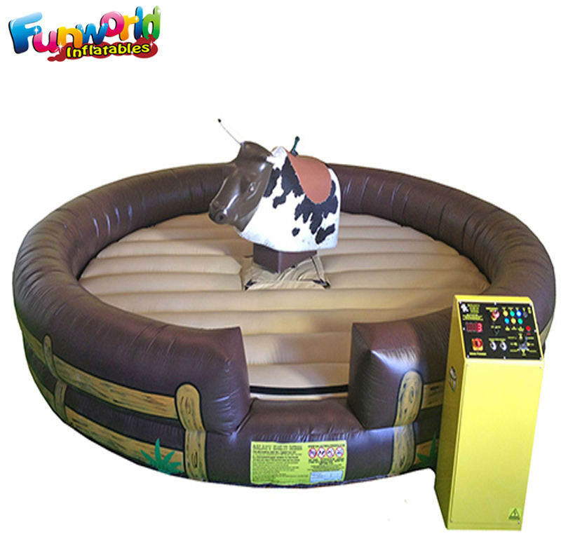 Qualite commerciale jeux gonflables rodeo mechanical bull販売