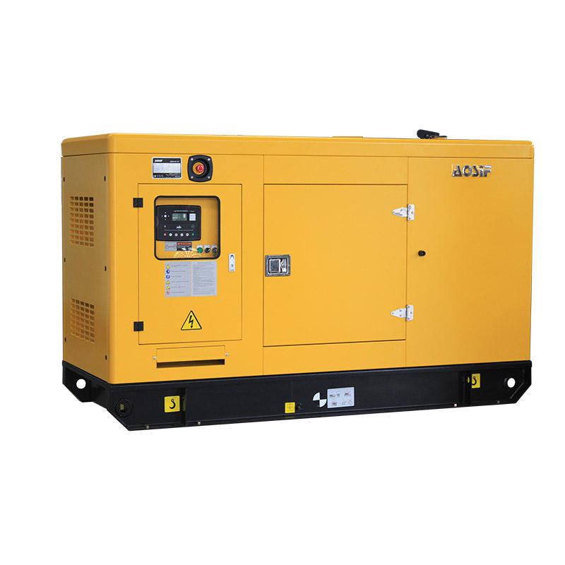 AOSIF 3 phase 4 wire 40kw 50kva soundproof generator diesel motor 220V silent type generators