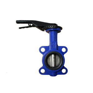 Double Eccentric Butterfly Valve, Flanged Butter Valve, Worm Gear Wafer Butterfly Valve