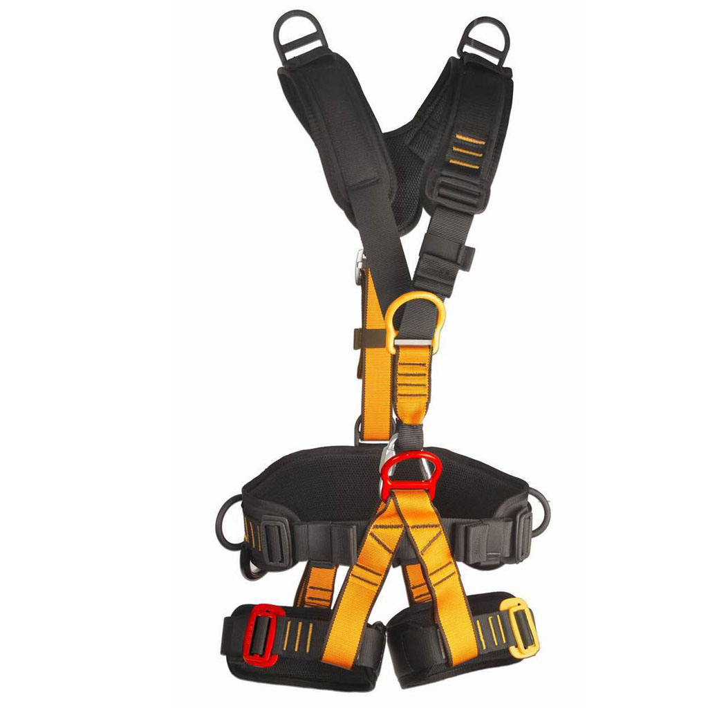 Full body fall arrest climbing harness belt customized