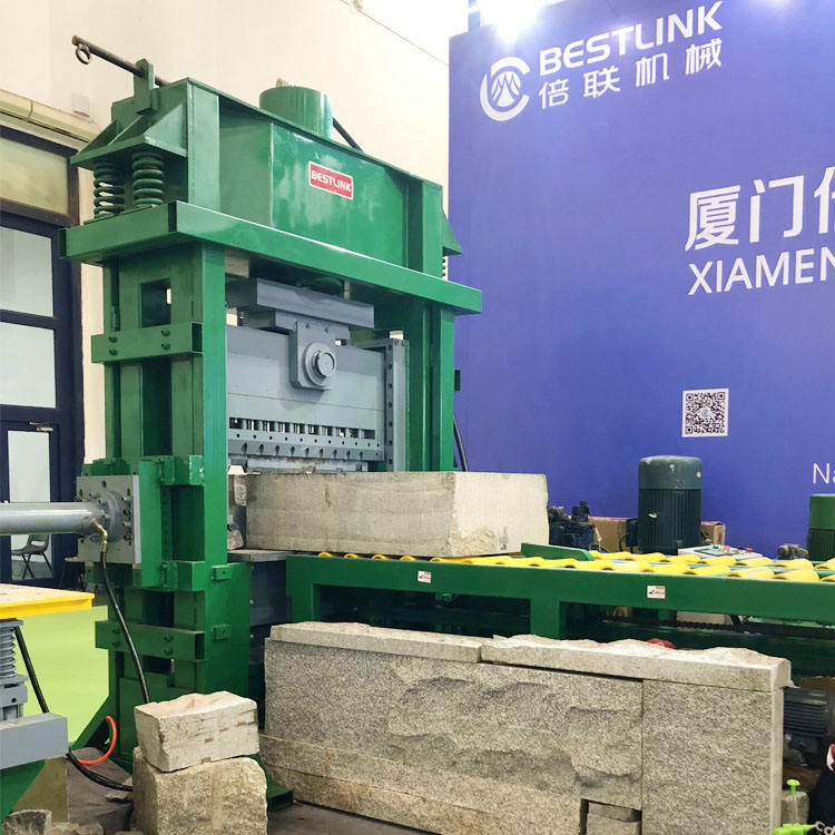 wall stone cutting sandstone splitting machine natural face split