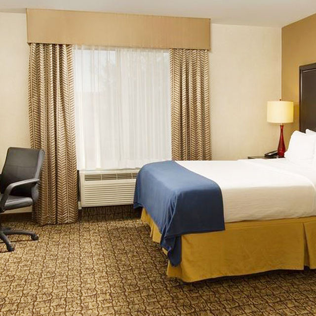 Hampton inn standard hotel drapes Flame Retardant window curtains