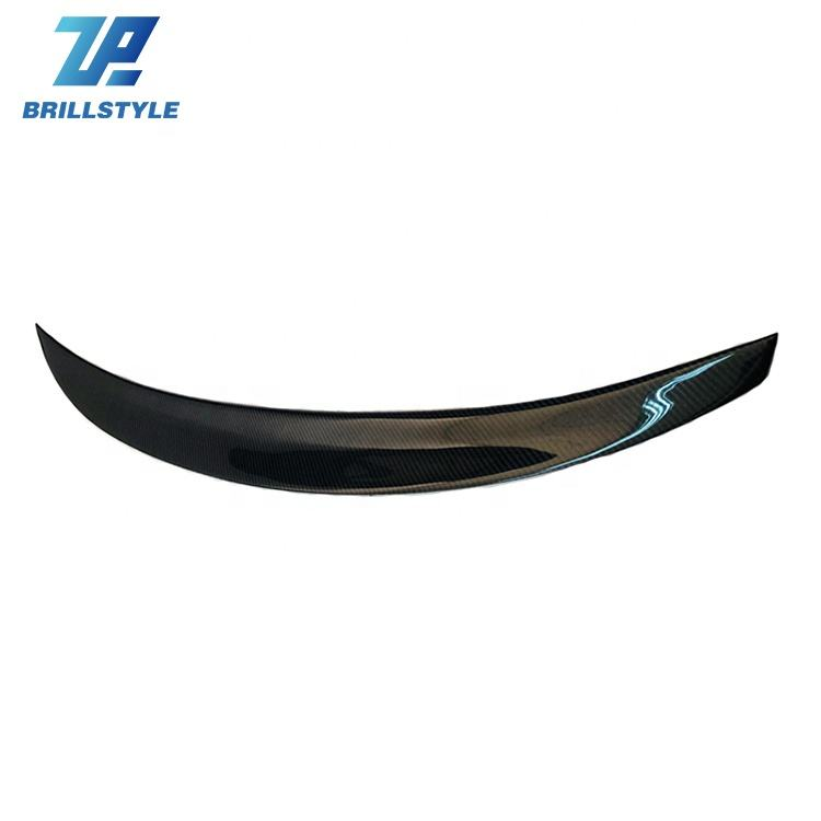 Carbon Fiber Rear Wing Spoiler For BMW F36 420i 428i 435i GranCoupe 4 Door Car Tail Trunk Lip 2014-2017