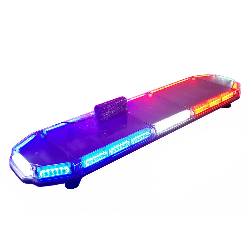 High intensity 47 inch emergency vehicle ultra slim hazard led amber warning light bar