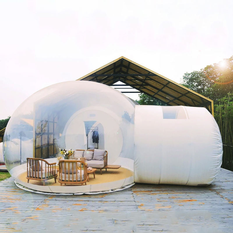 Outdoor Clear Bubble Tent Dome House Advertising Igloo Transparent Inflatable Tent
