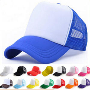 2019 New Custom Young Fashion Heat Sublimation Printing Cap For Adults Sport Caps Of Sponge Mesh Cap