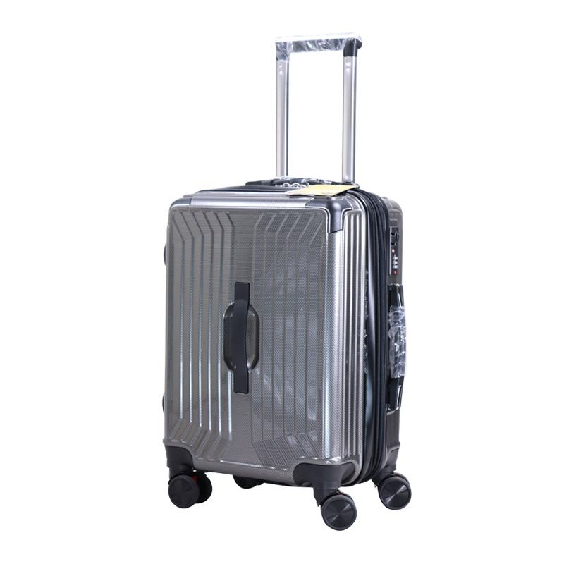 trolley bags carry on personalized hand luggage travelling pc abs luggage sets bag travel trolley suitcase ses 3pcs zipper bag