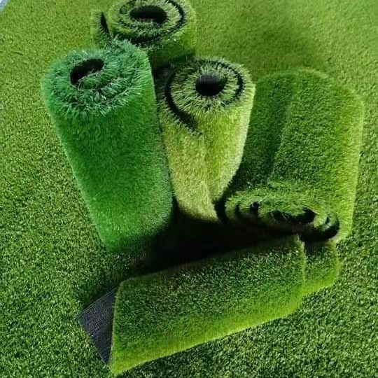 Customized color artificial grass synthetic grass for soccer fields