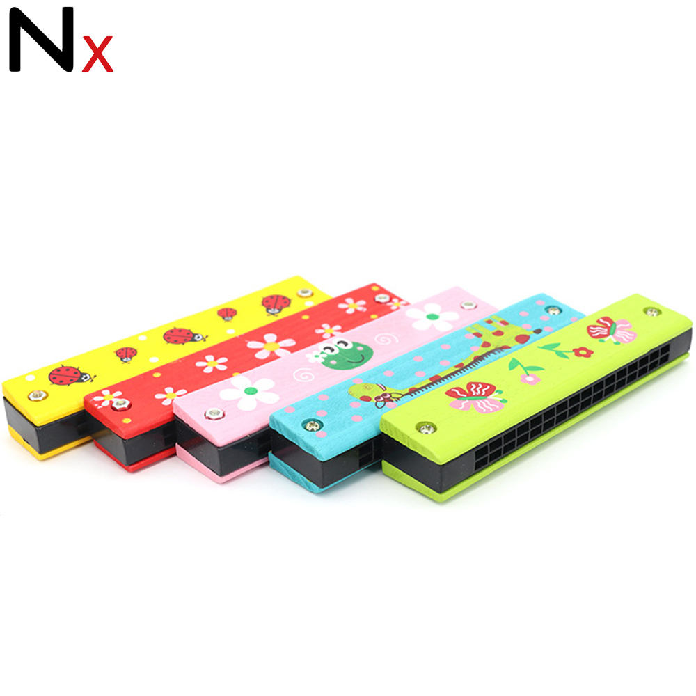Whole colorful fashion cheap mouth harmonica 16 holes