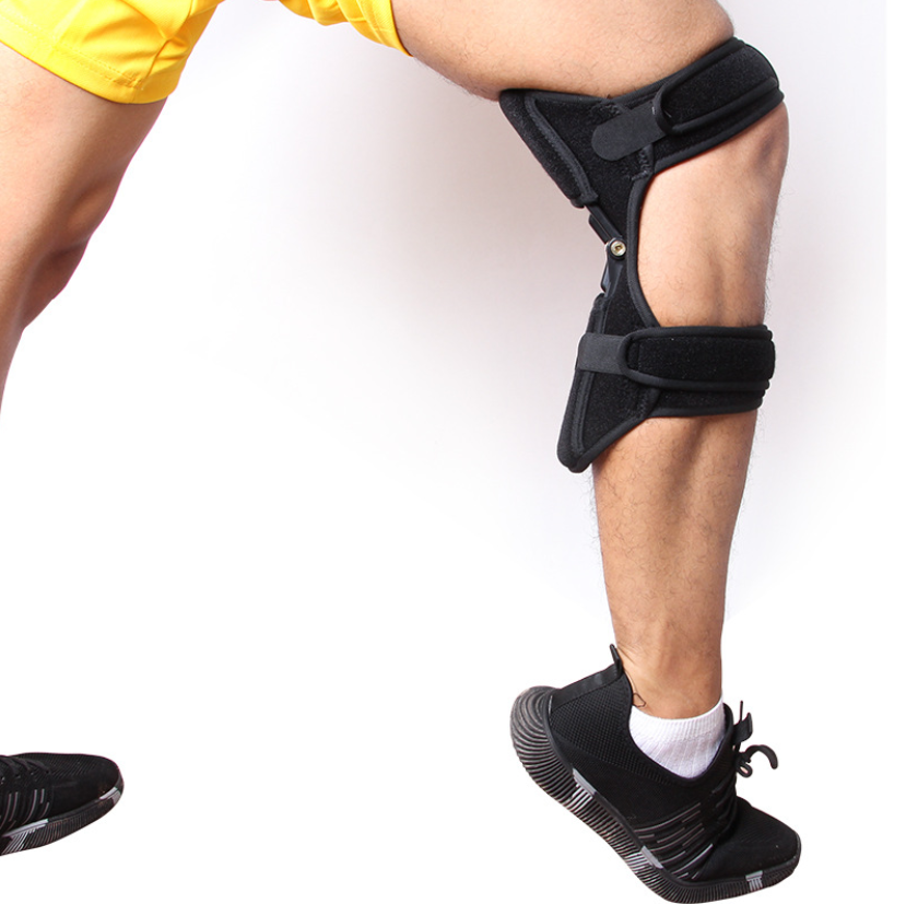 Powerknee patella booster climbing knee support powerful spring bouncing knee booster knee