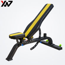 High quality strength machine gym equipment workout weight gym bench adjustable