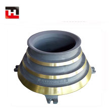 China high quality cone crusher spare parts high manganese steel liner Bowl