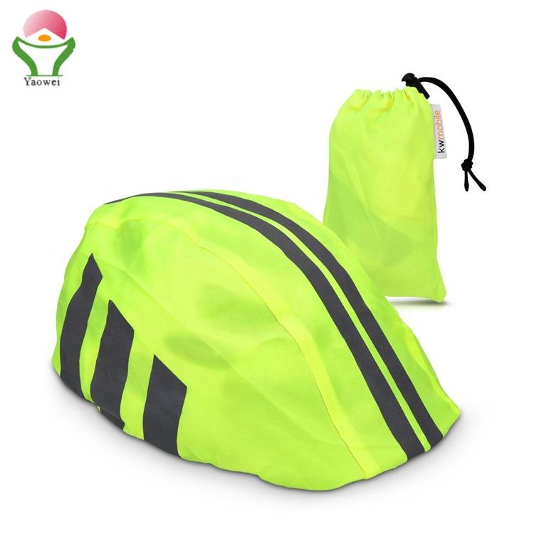 Newest fashion custom Silkscreen Promotional Cheap reflective Bike Bicycle Helmet Waterproof Cover