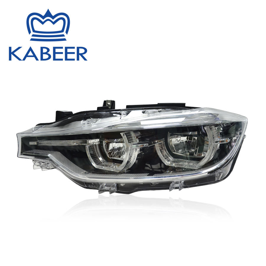 Headlamp half Assembly fit for 3 series F30 2015-2018 full LED Complete Plug&Play Aftermarket parts car front light