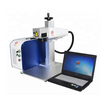 30w 50w 60w 70w sheet mini metal gold aluminum laser engraving cutting machine for sale