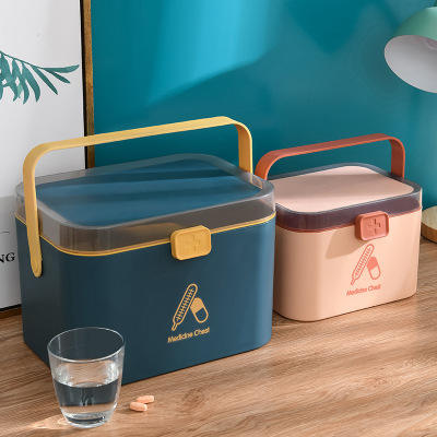 New small medicine box Nordic style medicine box household plastic portable medicine storage boxes