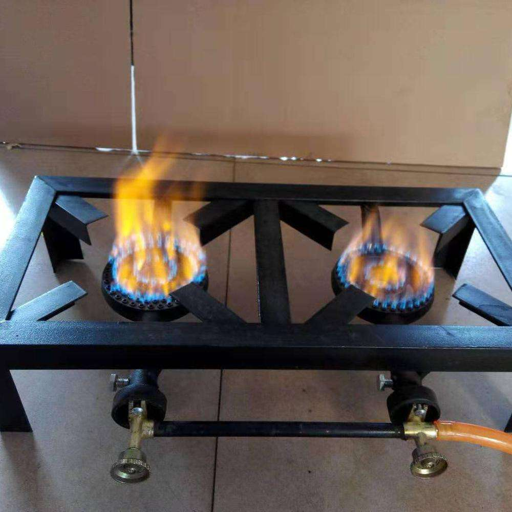 2 Burners camping pellet gas stoves gas cooker portable burner gas stove