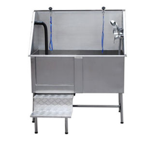 Dog Grooming Bath Tub Stainless Steel Bathtub For Pet SPA Shower