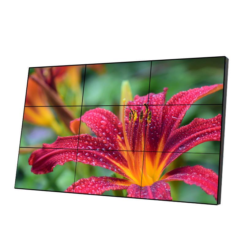 55 pollici 2x3 3.9 millimetri ultra-sottile gap splicing 3g wifi pubblicità pannello parete video a cristalli liquidi
