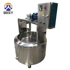 100 Liters Small Scale Cheese Vat Cheese Making Machine