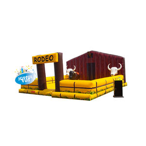 Popular game inflatable crazy rodeo bull inflatable ride bull inflatable mechanical bull for sale