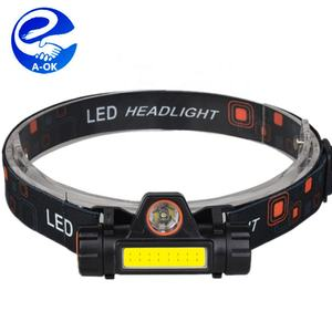 Portable mini LED faro XPE COB LED headlamp