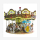 Amusement park ride fairground rides carousel horse for sale kiddie carousel, merry go round with LED lights