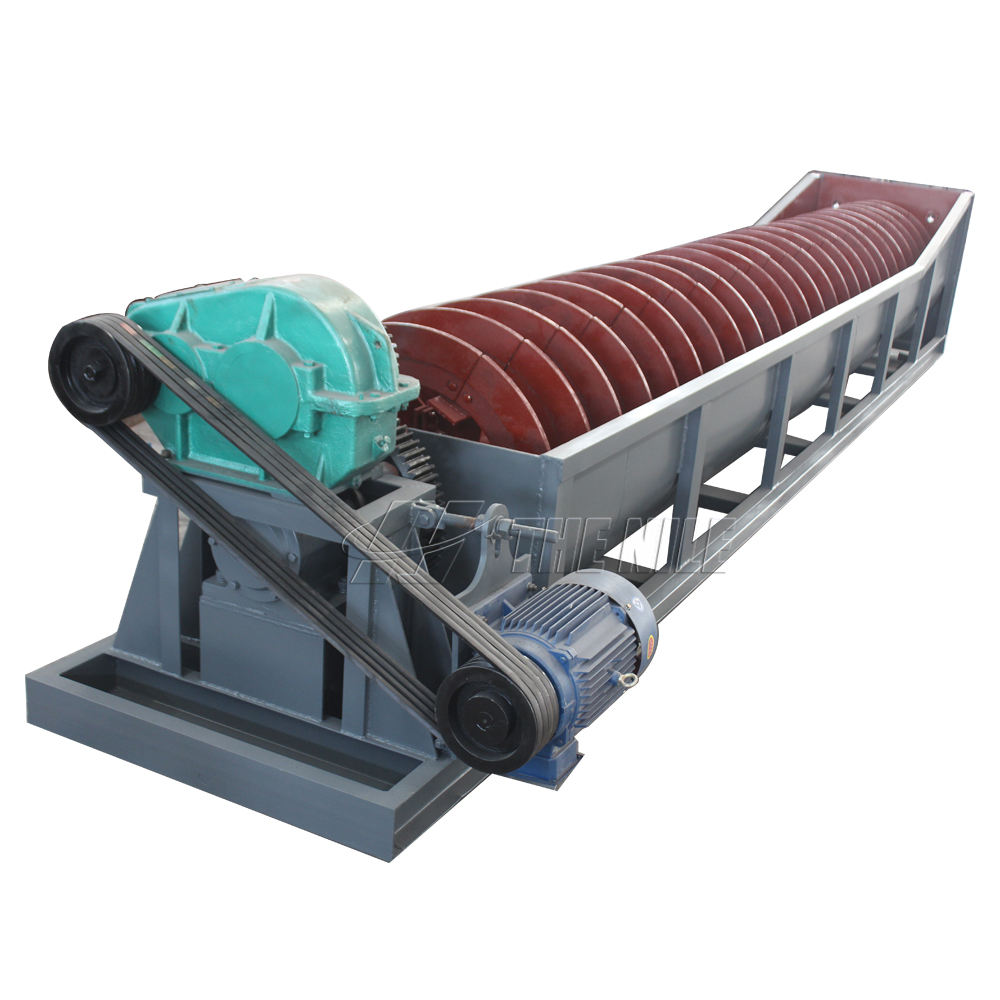 High Quality Screw Spiral Silica Sand Washing Machine For Sand