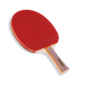 Haitian kids table tennis pingpong racket customized pattern with plastic film