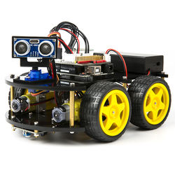 Robotlinking UNO Project Smart Robot Car Kit with Four-wheel