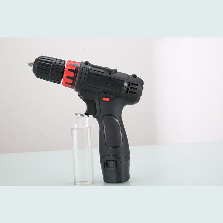 12V Cordless Brushed Electric Drill Battery Screwdriver Power Tools Cordless Mini Impact Electric Drill