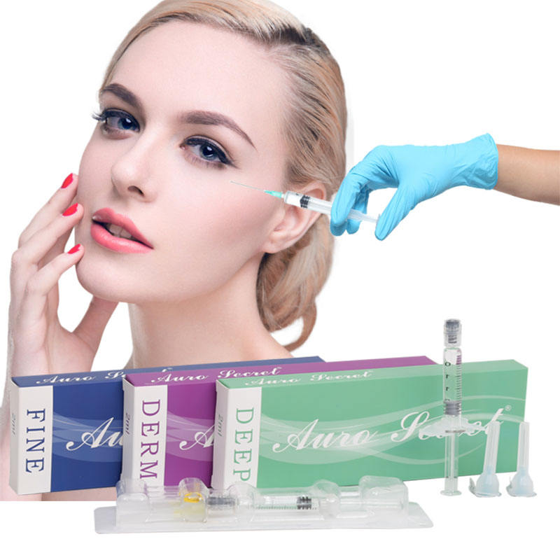 CE Certificate Hosmetic Grade Facial Hyaluronic Acid HA Filler Lips Dermal Filler